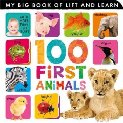 100 first animals : my big book of lift and learn.