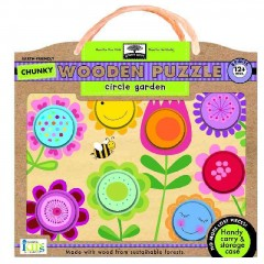 Circle Garden chunky wooden puzzle [game]