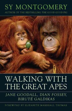 Walking with the Great Apes - Sy Montgomery