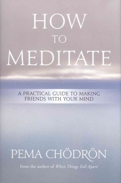 How to meditate : a practical guide to making friends with your mind - Pema Chödrön