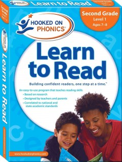 Hooked on phonics. Learn to read, Second grade, level 1, ages 7-8.