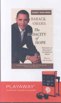 The audacity of hope : thoughts on reclaiming the American dream - Barack Obama