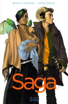 Saga Vol. 1-8 - Brian K Vaughan
