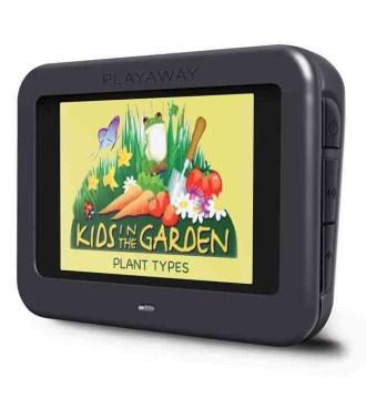 Kids in the garden : Plant types.