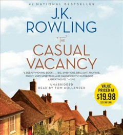 The casual vacancy - J. K Rowling