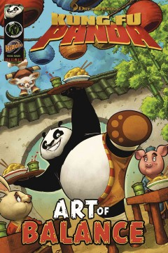 Kung fu panda : art of balance.