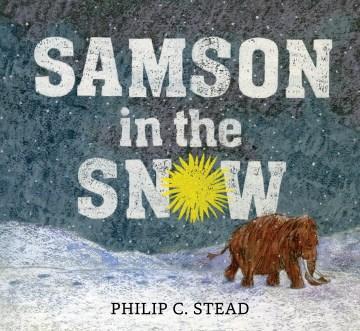 Samson in the snow - Philip Christian Stead