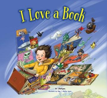 I love a book - Joe Rhatigan