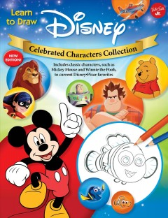 Learn to draw Disney celebrated characters collection.