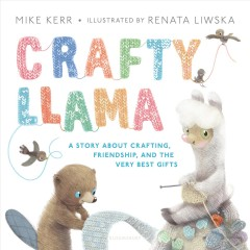 Crafty llama - Mike (Art instructor) Kerr