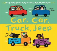 Car, car, truck, jeep - Katrina Charman