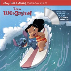Lilo & Stitch read-along storybook and CD - Sarah Harris