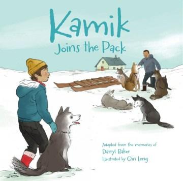 Kamik joins the pack - Darryl Baker