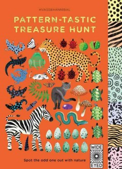 Pattern-tastic treasure hunt : spot the odd one out with nature.