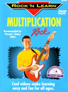 Rock 'n learn produced by Rock 'N Learn. Multiplication rock