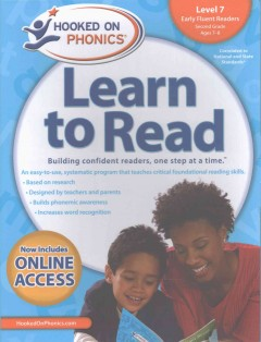 Hooked on phonics. Learn to read, Early fluent readers, Level 7, Second grade, ages 7-8.