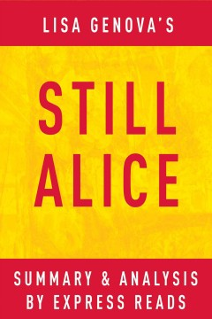 Still alice: by lisa genova