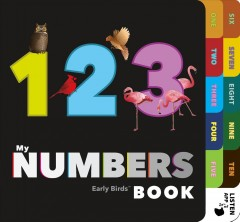 My numbers book - Patricia Mitter