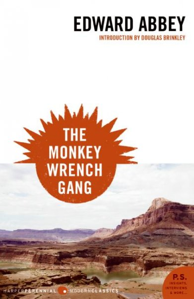 Cover: 'The Monkey Wrench Gang'