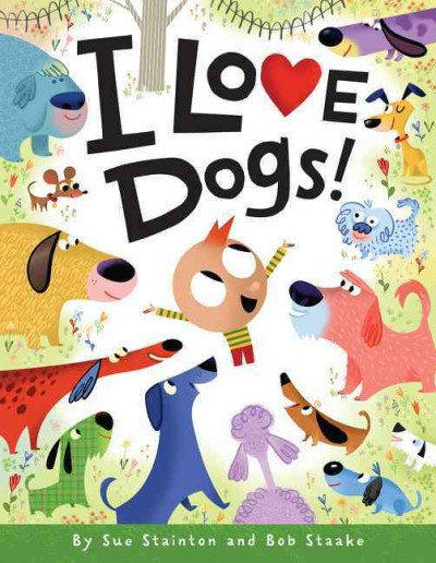 Cover: 'I Love Dogs!'