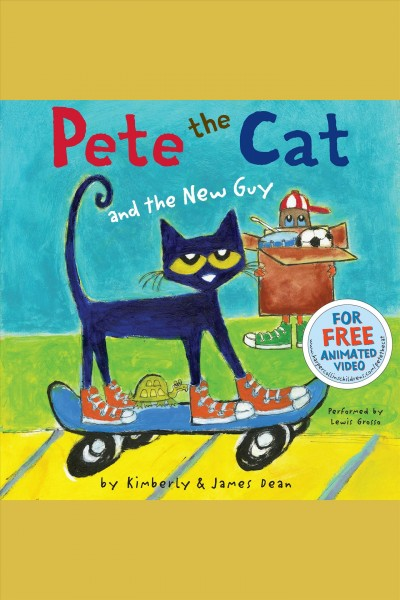 Cover: 'Pete the Cat and the New Guy'