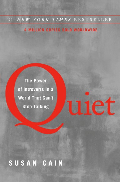 Cover: 'Quiet: The Power of Introverts in a World That Can't Stop Talking'