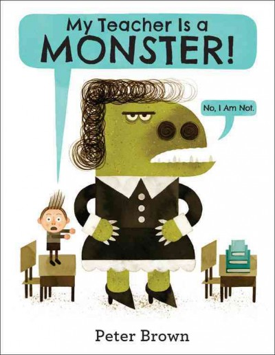 Cover: 'My Teacher Is a Monster!'