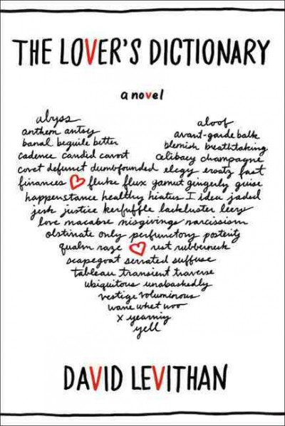 Cover: 'The Lover's Dictionary'