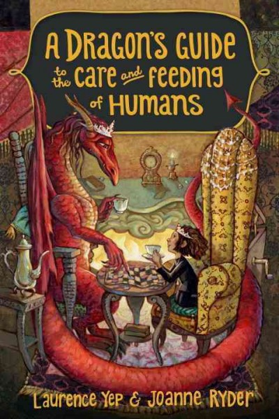 Cover: 'A Dragon's Guide to the Care and Feeding of Humans'