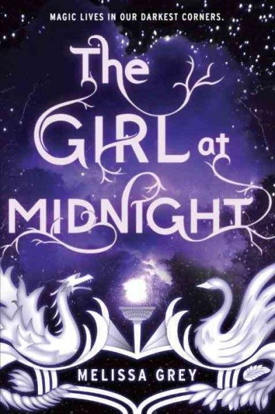 Cover: 'The Girl at Midnight'