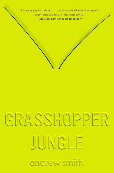 Cover: 'Grasshopper Jungle '