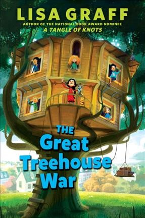 Cover: 'The Great Treehouse War'