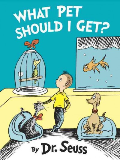 Cover: 'What Pet Should I Get?'
