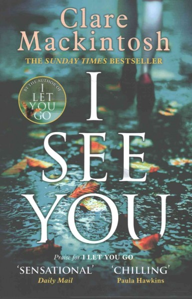 Cover: 'I See You'