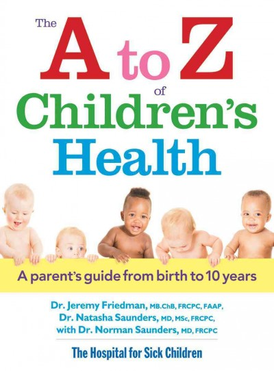 Cover: 'The A to Z of Children's Health'