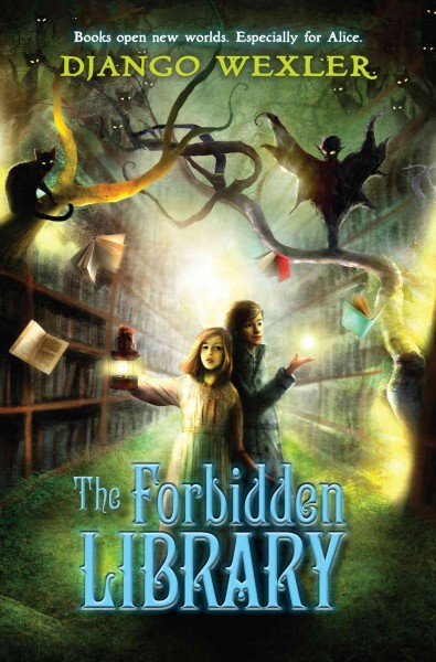 Cover: 'The Forbidden Library'