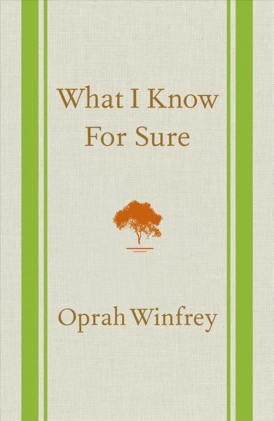 Cover: 'What I Know For Sure'