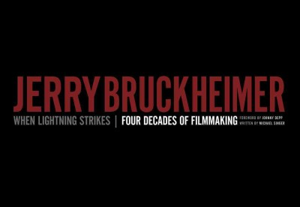 Cover: 'When Lightning Strikes: Four Decades of Jerry Bruckheimer'