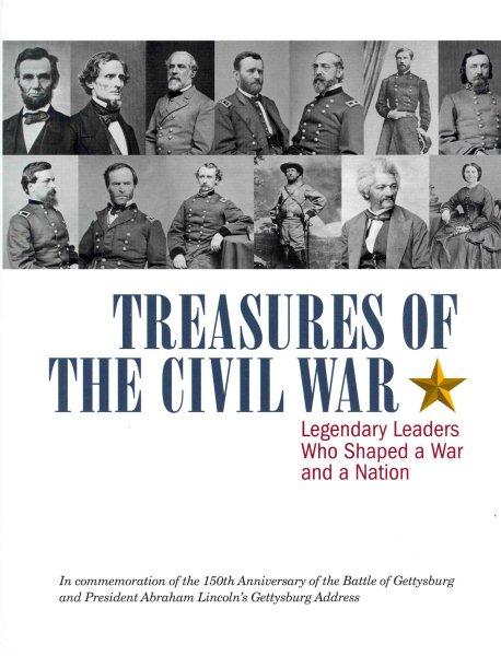 Cover: 'Treasures of the Civil War'