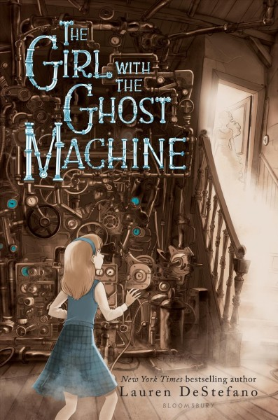 Cover: 'The Girl with the Ghost Machine'