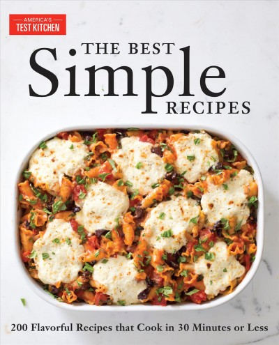 Cover: 'The Best Simple Recipes'