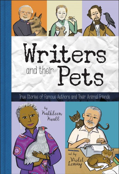Cover: 'Writers and Their Pets'