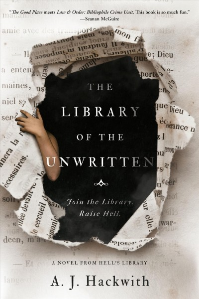 Cover: 'The Library of the Unwritten '