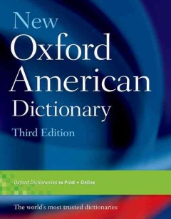 Product New Oxford American Dictionary
