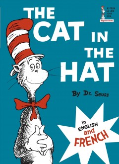 Product Cat in the Hat English and French
