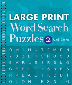 Product Large Print Word Search Puzzles 2