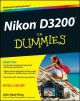 Product Nikon D3200 for Dummies