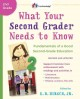 WHAT YOUR SECOND GRADER NEEDS TO KNOW : FUNDAMENTALS OF A GOOD SECOND-GRADE EDUCATION