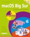MACOS BIG SUR IN EASY STEPS : FOR ALL MACS (IMAC, MAC MINI, MAC PRO AND MACBOOK) WITH MACOS BIG SUR (V 11)