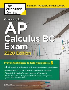 Cover image for Cracking the AP calculus BC exam